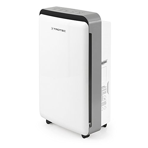 Trotec TTK 69 E Dehumidifier, Air Dehumidifier, Portable Dehumidifier, Mobile Dehumidifier (max. Capacity 20l/24h, for Room max. 45m²)