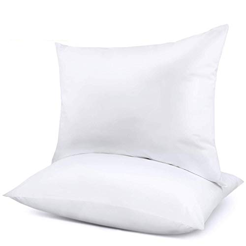 Pillows for Sleeping 2 Pack, Queen-Size Bed Pillows for Neck Pain Premium Down Alternative Cooling Hotel Pillow for Side & Back Sleeper with Cotton Cover