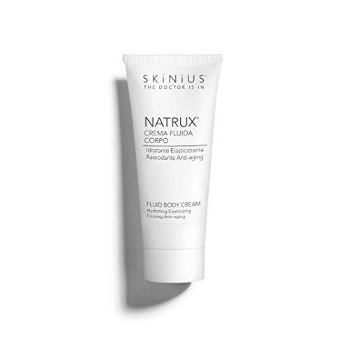 Skinius - NATRUX Crema Gambe e Corpo, Antiage, Idratante e Rassodante con Fospidina, per un'Idratazione Ottimale, 200 ml