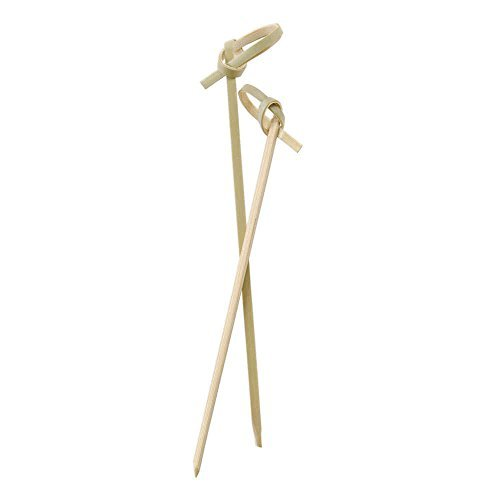 """Perfectware Bamboo Knot 4-300ct 4"""" Bamboo Knot Picks (Pack of 300)"""