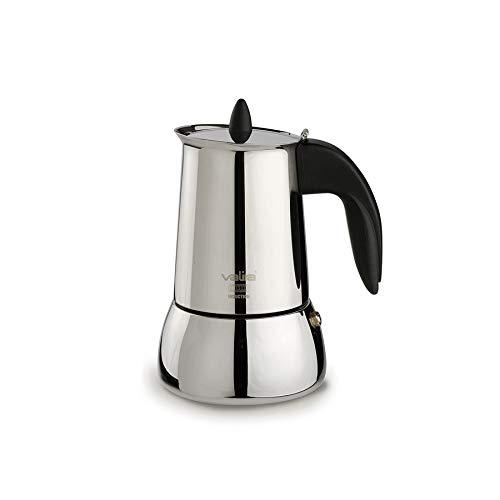 Valira | Isabella | Cafetera apta para inducción | 10 tazas, Acero 18/10