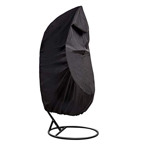 HANSHI Funda para silla colgante, resistente a la intemperie, cubierta para silla de huevo, balcón, porche, salón, columpio, muebles de jardín