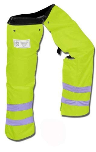 Forester Large Protective Trimmer Safety Green Chaps