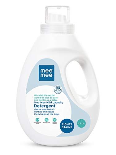 Mee Mee Mild Baby Liquid Laundry Detergent (1.5 L - Bottle)