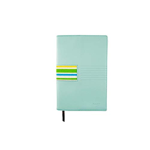 Xyhcs Cuaderno, Cuaderno Exquisito, Cuaderno A5 - Diario Nota Diario y Plan / 82-179 Hojas (Color : Blue, Size : B)