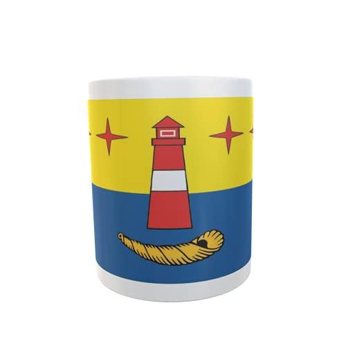 U24 Tasse Kaffeebecher Mug Cup Flagge Hörnum (Sylt)
