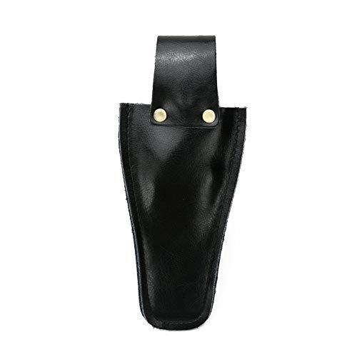 Tijeras de piel para electricista, fundas para herramientas, alicates de soldadura, soporte para cinturón, bolsa de jardinería, bolsa para alicates, tijeras o cuchillo de poda DD02, negro