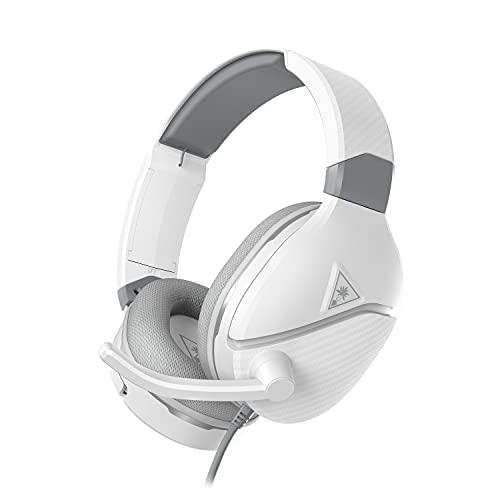 Turtle Beach Recon 200 Blanco Auriculares de Juego Amplificados - PS5, PS4, Xbox Series X|S, Xbox One, Nintendo Switch y PC (PlayStation 5)