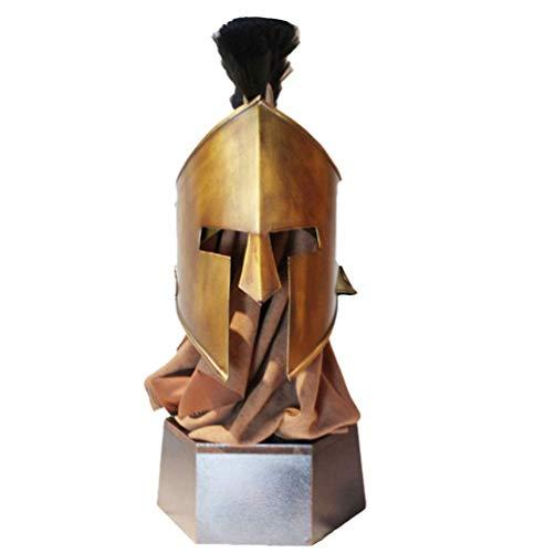 Spartanischer Helm, mittelalterlicher antiker Rom-Gladiator-Soldatenhelmhut, King...