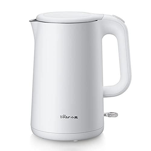 KELITE Elektrischer Wasserkocher 1.5L Schnelles heiße kochende Teekanne elektrische Wasserkocher-Edelstahl für Home Essentials