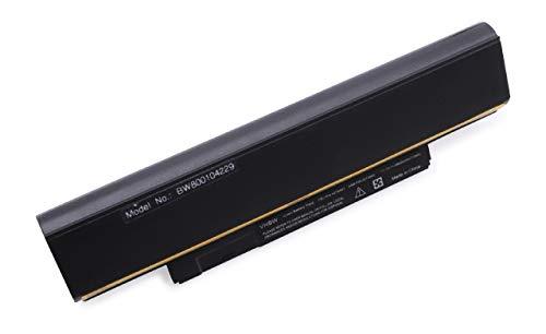 vhbw Li Ion Akku 6600mAh 111V schwarz fur Notebook Laptop Lenovo ThinkPad E120 X121e X130e Edge E120 E125 E135 E320 wie 42T4943 42T4951