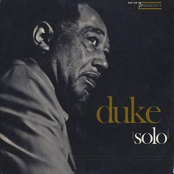 "Duke Ellington. ""Solo"" President KVP 225"
