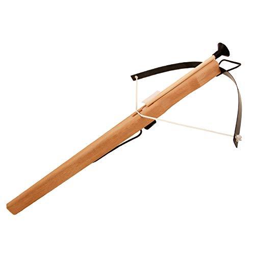 Armbrust Jagdarmbrust aus Holz geölt mit 3 Sicherheitspfeilen 45/41cm (725) – Spielzeugmanufaktur Vah [Made in Germany | traditionelles Handwerk]