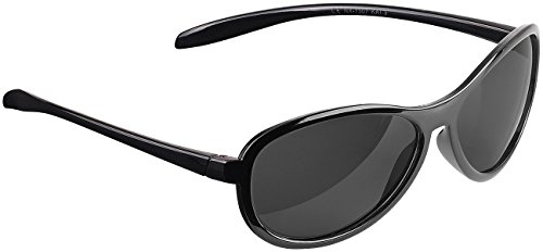 PEARL Brille polarisiert: Kontrastverstärkende Sonnenbrille, polarisiert, UV 380 (Polarisierende Brille)