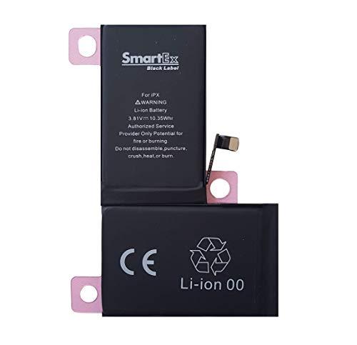 Smartex® Black Label Baterìa Compatible con iPhone X - 2716 mAh | Año 2020 | 2 Años de Garantía