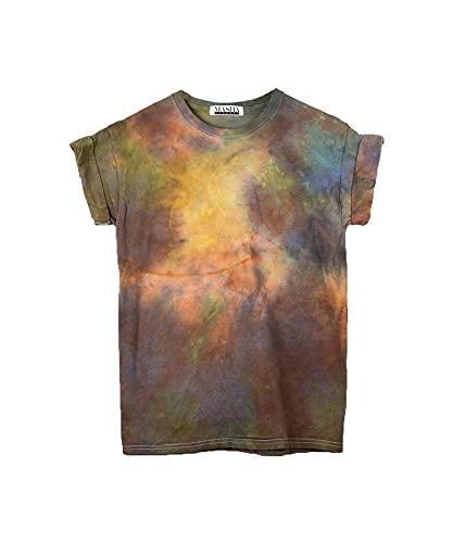 Reverse Tie Dyed T-Shirt Gift Limited Edition Adult Custom UK seller Unisex XL Unique Men/'s  Women/'s Easter Summer Festival