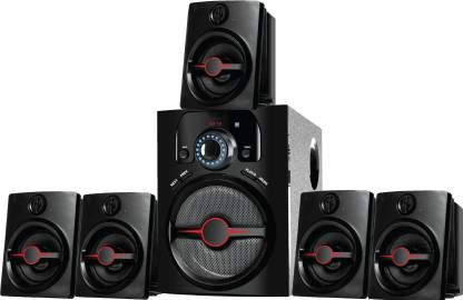 I KALL IK-444 5.1 Home Theater System Multimedia Speaker with FM Stereo, Bluetooth, USB & AUX Function