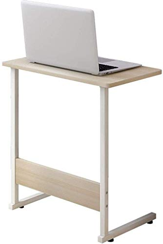Computer-Schreibtisch-Nachttisch Metall Laptop-Tisch Studentenwohnheim Faule Studie Tabelle Einfach Zimmer Ausgangsbeiläufiger Couchtisch Home Office-Arbeitsplatz (Farbe: A) LOLDF1 (Color : B)