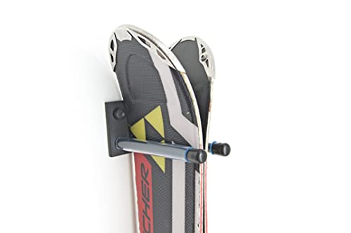 QLS Skihalterung Skiwandhalter Skihalter Skiträger Wandhalter Skiaufbewahrung 13 cm