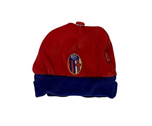 BFC Casquette d'hiver Chenille Bologna Official Production - Rouge - Small