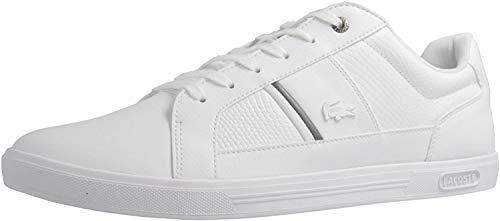 Lacoste Sneaker in Übergrößen Weiß 7-34SPM0044001 große Herrenschuhe, Größe:51
