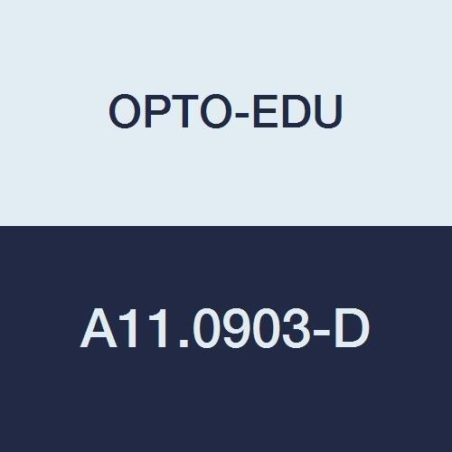 OPTO-EDU A11.0903-D Compound Binocular Microscope, 40X-2000X Magnification, Bright Field, Tungsten Illumination, Abbe Condenser, Mechanical Stage, Metal, Glass, Plastic
