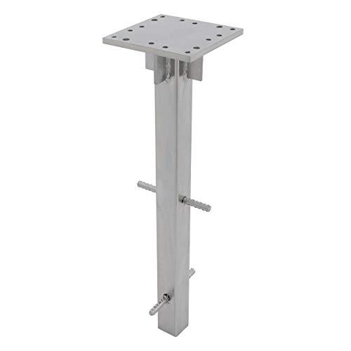 doppler Universal Bodenanker - Für Sonnenschirme/Ampelschirme - Aus verzinktem Stahl - Für optimale Stabilität