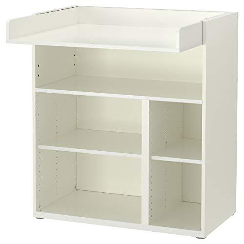 IKEA STUVA stół do przewijania / biurko 90 x 79 x 102 cm biały