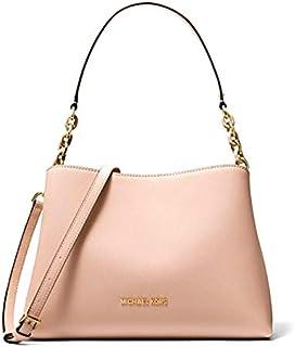 Michael Kors Sofia Large Leather EW Satchel Shoulder Bag