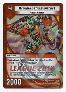 GEN CON 2012 KAIJUDO DRAGLIDE THE SWIFTEST LEAGUE 2012 PROMO CARD
