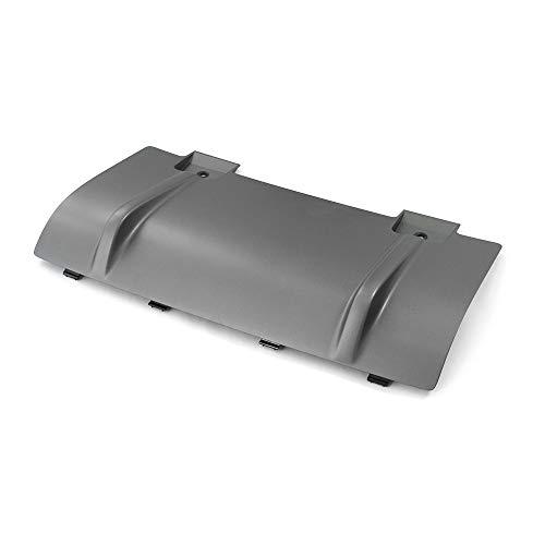 Verschlussdeckel Mitte für Anhängekupplung AHK Anhänger Blende platiniumgrau, nur SQ5 (Typ 8R)