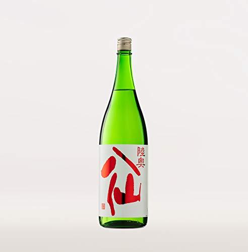 ☆【日本酒】陸奥八仙(むつはっせん) 赤ラベル 特別純米 火入れ 1800ml