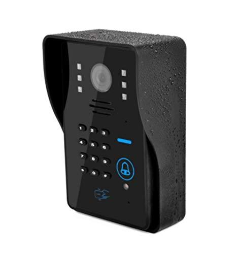 JJZXT 4G Android nocturna video timbre timbre de la puerta Wifi inteligente LED de visión de la cámara de WiFi más a distancia 3G / / IOS sistema operativo del teléfono móvil APP mando más a distancia