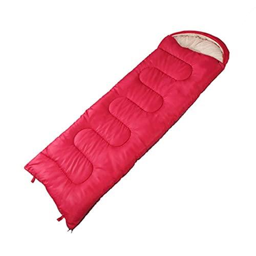 GTBF Bolsa de Dormir 5~5 ° C, Camping al Aire Libre cálido Grueso, Equipo de Fiesta de la Fiesta de montaña, luz