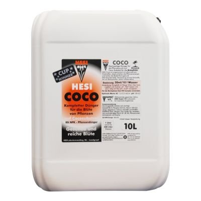 HESI Coco Wuchs Blüte Dünger Wachstum Grow 10 Liter flüssig
