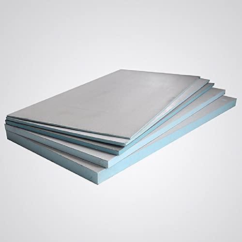 0,72 m² Bauplatte Fliesenplatte 0,6, mm 10 mm 20 mm 30 mm Ausgleichplatte XPS Entkopplungsplatte Dämmplatte Hartschaumplatte Extrem Druckfest (1200 x 600 x 20)