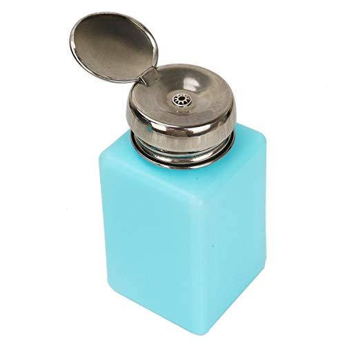 JETEHO 2 Pack 200ml Push Down Alcohol Dispenser Pump Bottle Methanol Container