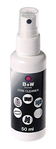 B+W Lens Cleaner, Pumpspray 50ml, zur Reinigung von Filter, Objektiven und Co. mit Anti-Beschlag Wirkung