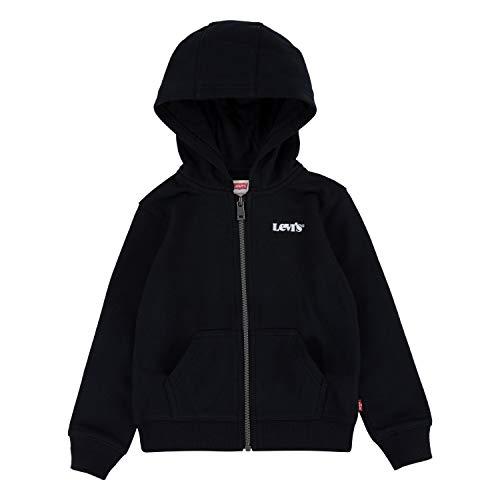 Levi's Kids LVB BASIC FZ HOODIE C947 sudadera con capucha negro para Niños