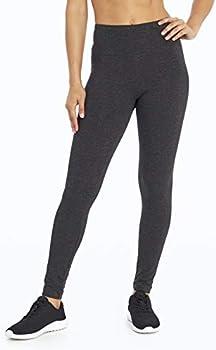 Bally Total Fitness Womens High Rise Tummy Control Legging