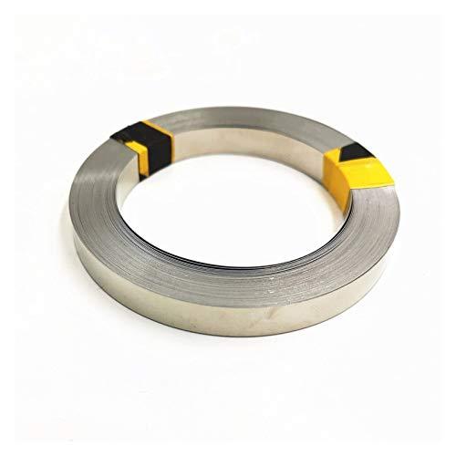 HHOSBFSS 1 Walze 10m 18650 Li-Ion-Batterie-Nickelblatt, Platte Vernickelt, Plattierter Stahlbandstreifen-Stecker, Punktschweißmaschine Batterieschweißer (Size : 0.2x8x10m)