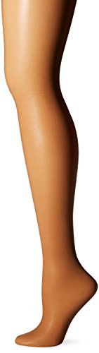 L'eggs Women's Sheer Energy Toe Pantyhose, Suntan, B, 1-Pack