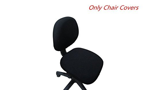 Computer Office Chair Cover Universal Stretch Rotating Chair Cloth Cover Removable Split Style Elastic Easy-Install