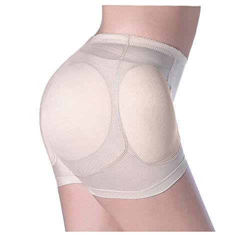RosinKing - Bragas para cadera y culotas, 4 desmontables, acolchadas, sin costuras, control de glúteos