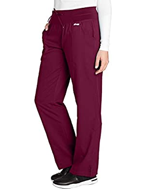 Grey's Anatomy Active 4276 Yoga Pant Wine M