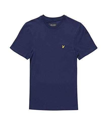 Lyle & Scott Herren Crew Neck T-Shirt, Blau (Navy Z99), Large