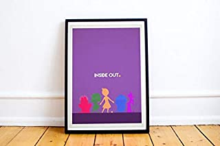 MugKD LLC Inside Out Minimalist Poster Gifts for Lovers Poster [No Framed] Poster Home Art Wall Posters