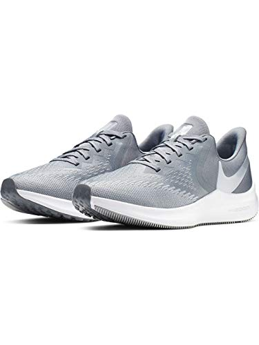 Nike Women's Zoom Winflo 6 Track & Field Shoes, Cool Grey/Metallic Platinum/Wolf Grey/White, 10 B US