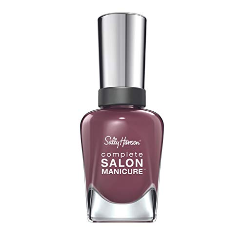 Sally Hansen Complete Salon Manicure Nagellack, Farbe 360, Plums The Word, helles lila, 1er Pack (1 x 15 ml)