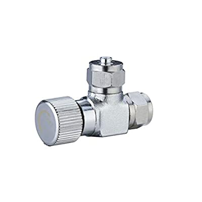 Bluecell Copper Needle Valve CO2 Adjustment Valve for Accurate CO2 Regulation by Bluecell World